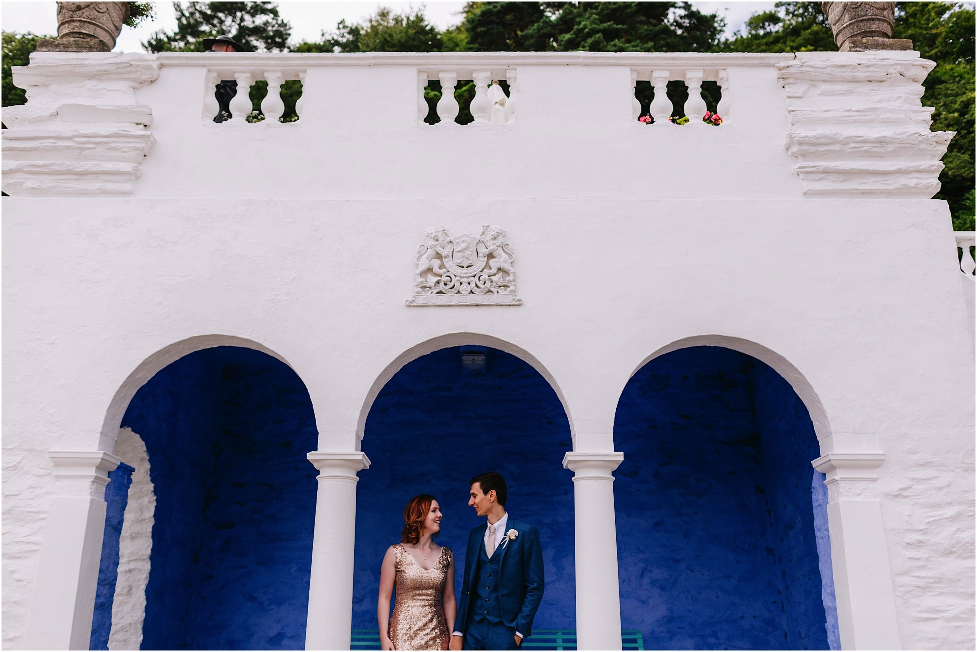 Portmeirion wedding photography – Ed and Charlotte