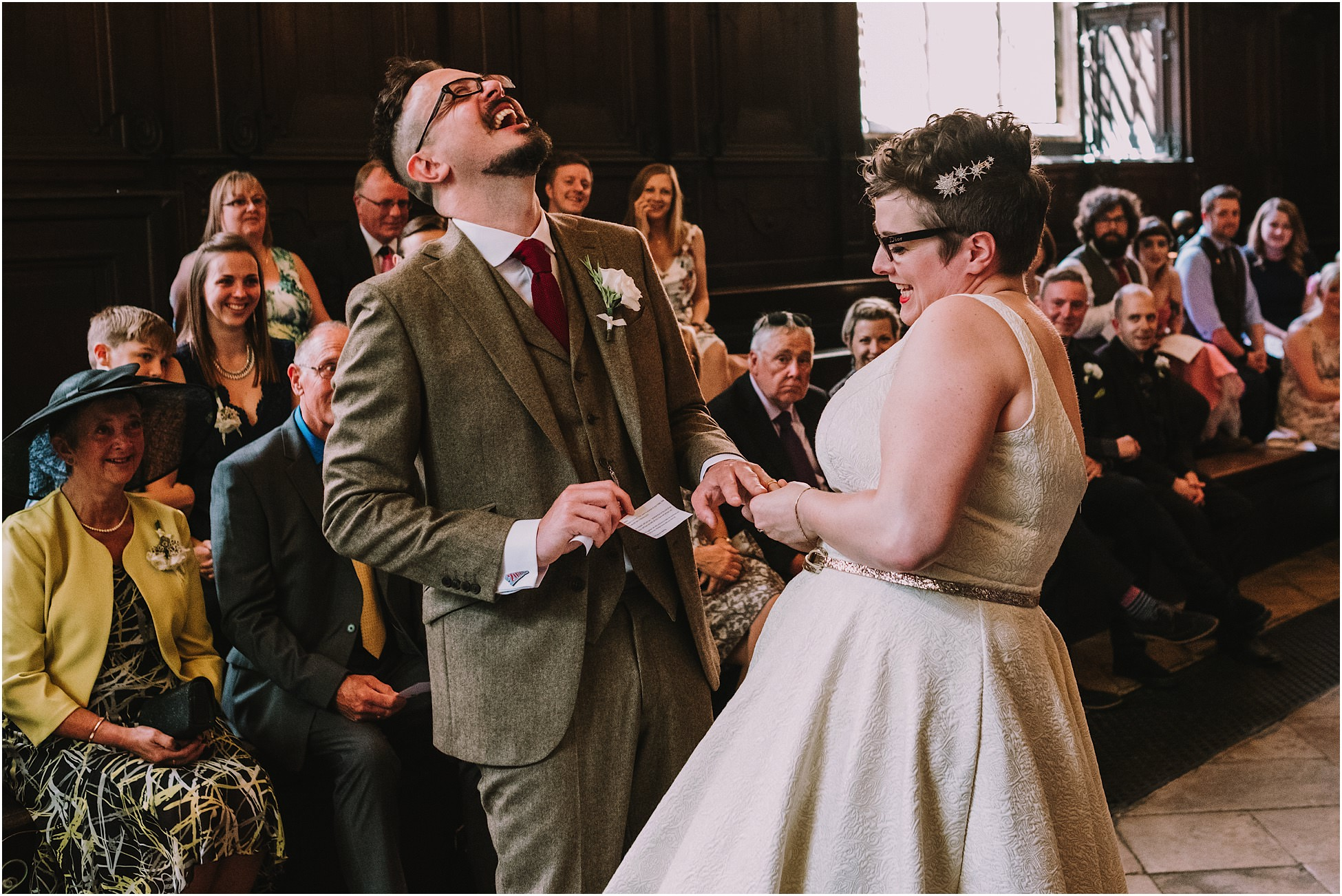 Bodleian Library Oxford wedding photography – Katherine and Mike
