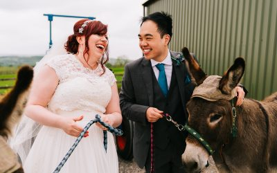 Wellbeing Farm wedding photography